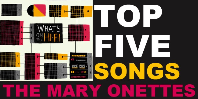 TOP 5 SONGS MARY ONETTES